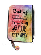 Reading Is Dreaming With Your Eyes Open - Purse