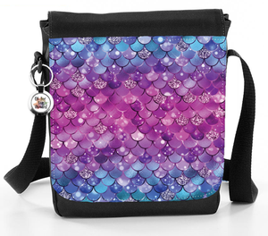 Mermaid Pattern - Reporter Bag