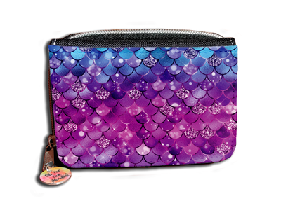 Mermaid Pattern - Purse