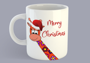 Daphne The Liv-Luv-Laff Giraffey Merry Christmas - Mug