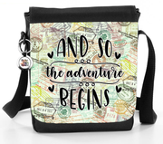 And So The Adventure Begins - Reporter Bag