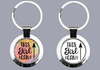 This Girl Can - Keyring