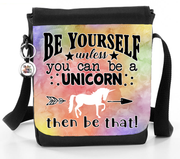 Be Yourself, Unless You Can Be A Unicorn, Then Be That - Reporter Bag