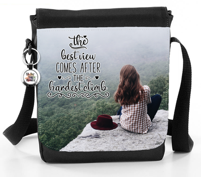 The Best View Comes After The Hardest Climb - Reporter Bag