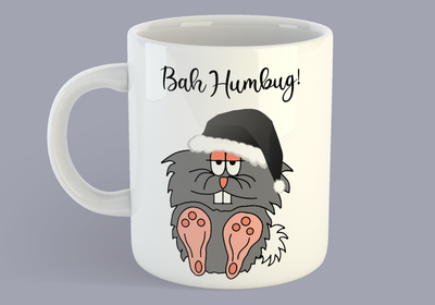 The Curmudgeon Bah Humbug - Mug