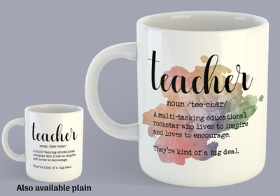Definition: Teacher - Mug