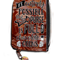 It's Entirely Possible That This Purse Is Full Of Chocolate Coins (Photo Edition) - Purse