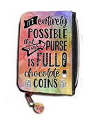 It's Entirely Possible That This Purse Is Full Of Chocolate Coins - Purse