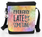Probably Late For Something - Reporter Bag