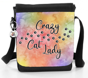 Crazy Cat Lady Paw Prints - Reporter Bag