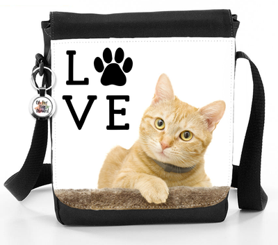 Love Cat - Reporter Bag