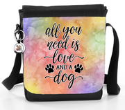 All You Need Is Love And A Dog - Reporter Bag