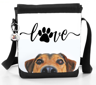 Love Dog Heartline - Reporter Bag