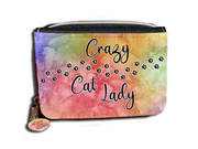 Crazy Cat Lady Paw Prints - Purse