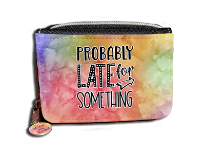 Probably Late For Something - Purse