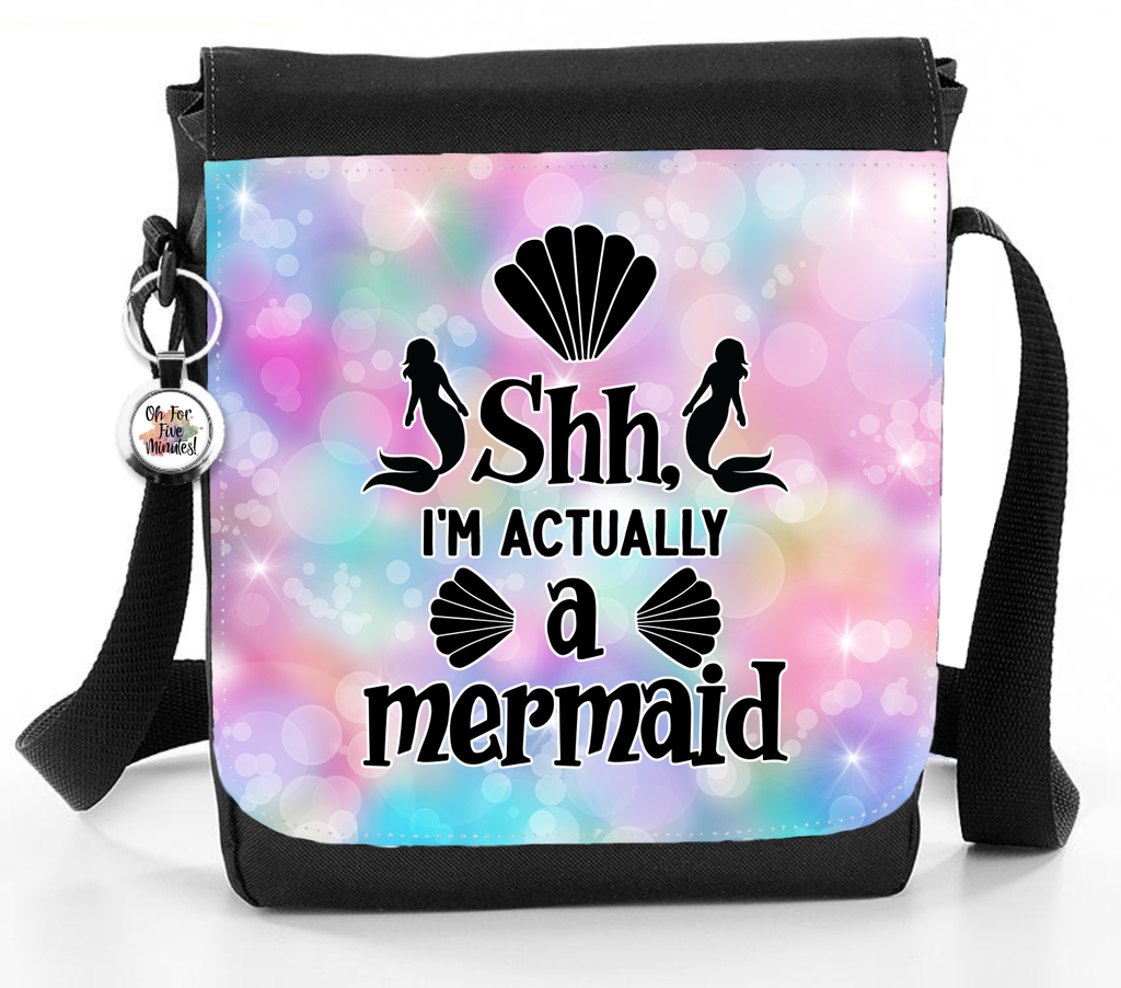 Shh I'm Actually A Mermaid - Reporter Bag