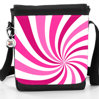 Swirl Sunburst Pattern Bag (Multiple Colours) - Reporter Bag