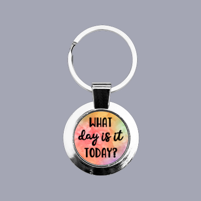 What Day Is It Today? - Keyring