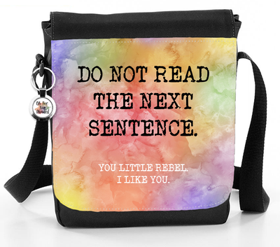 You Little Rebel. I Like You - Reporter Bag