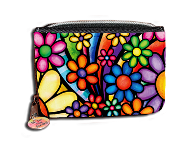 Funky Flowers - Purse