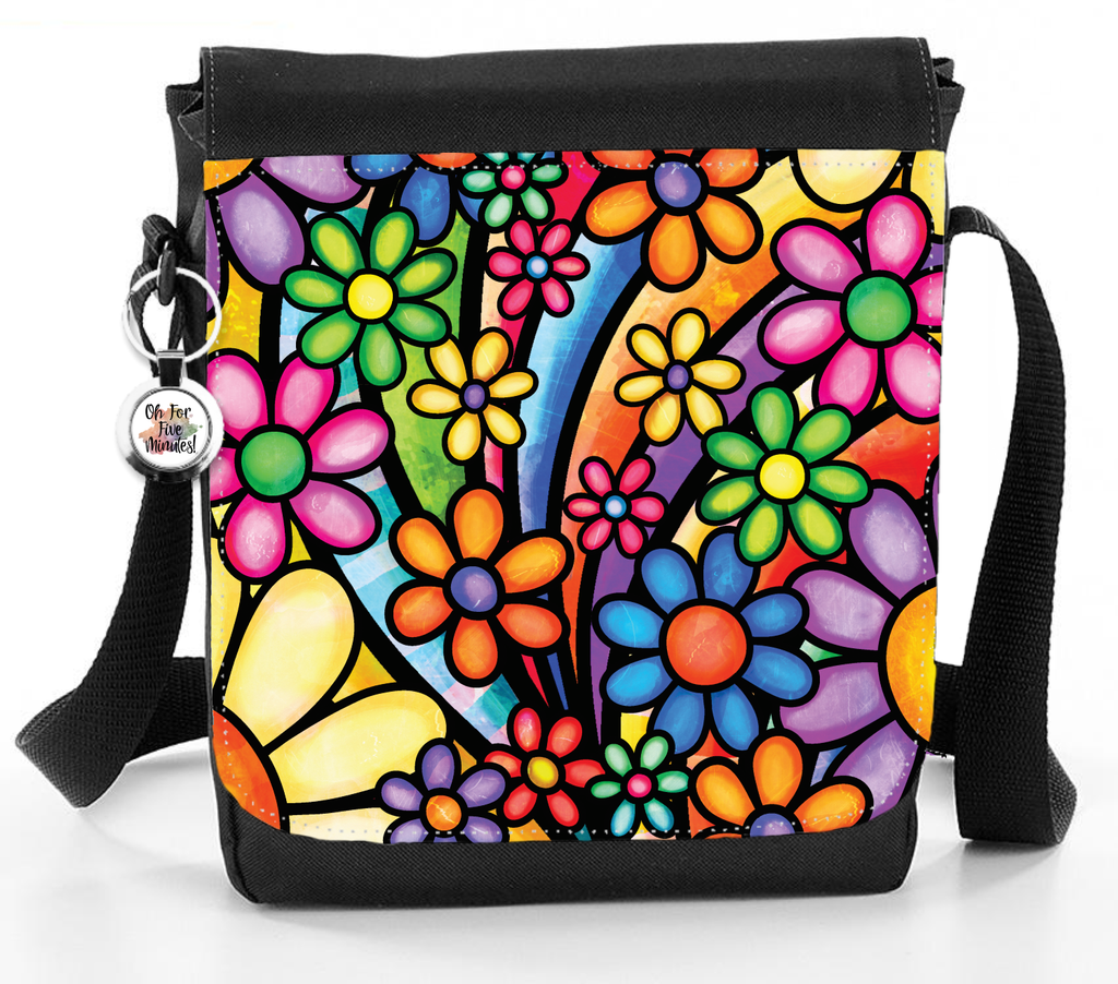 Funky Flowers - Reporter Bag
