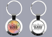 Adulting Is Hard, No Really It Is - two versions of keyring