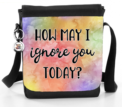 How May I Ignore You Today? - Reporter Bag