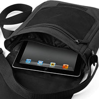 Reporter Bag containing ipad or tablet