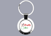 Naughty or Nice? (Naughty) - Keyring