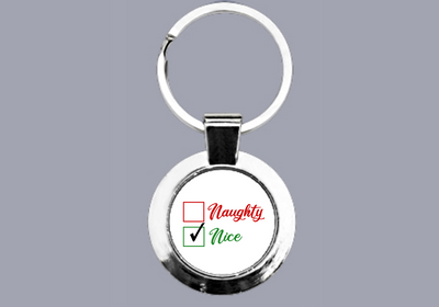 Naughty or Nice? (Nice) - Keyring