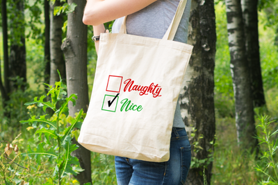 Naughty or Nice? (Nice) - Tote Bag