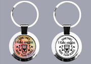 Sometimes I Like Coffee More Than People - Keyring