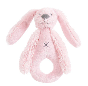 Rabbit Richie Rattle - Pink