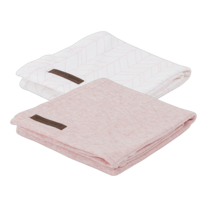 Little Dutch Swaddle Doek Peach - 2 Pack