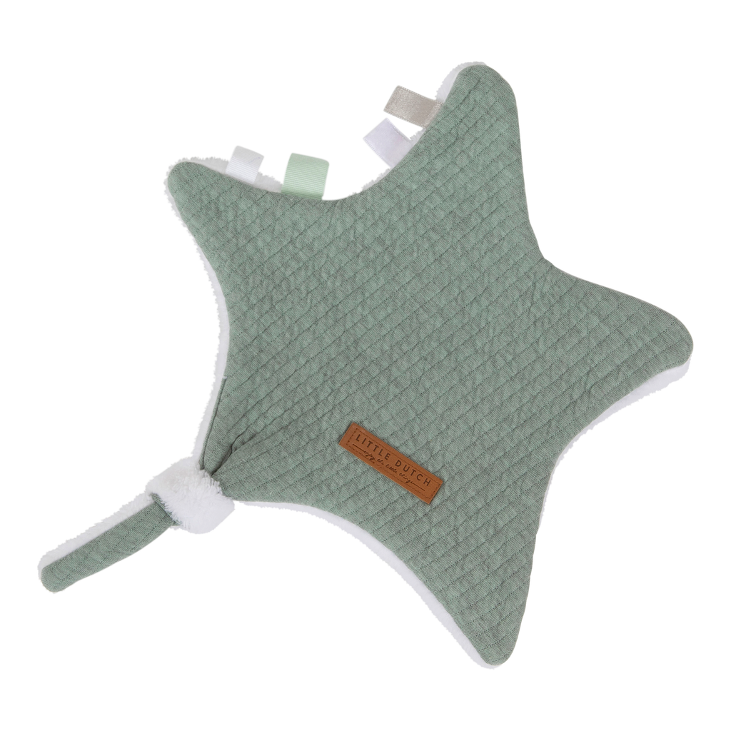 Little Dutch Knuffeldoek Ster - Pure Mint