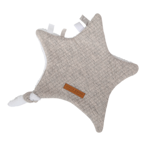 Little Dutch Knuffeldoek Ster - Pure Grey