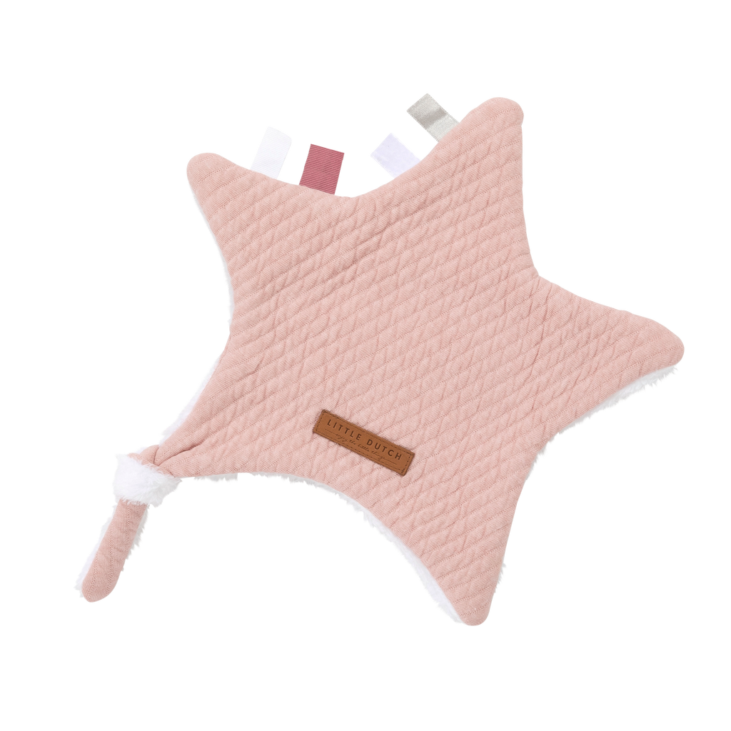 Little Dutch Knuffeldoek Ster - Pure Pink