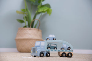 Little Dutch Truck Hout - Mint