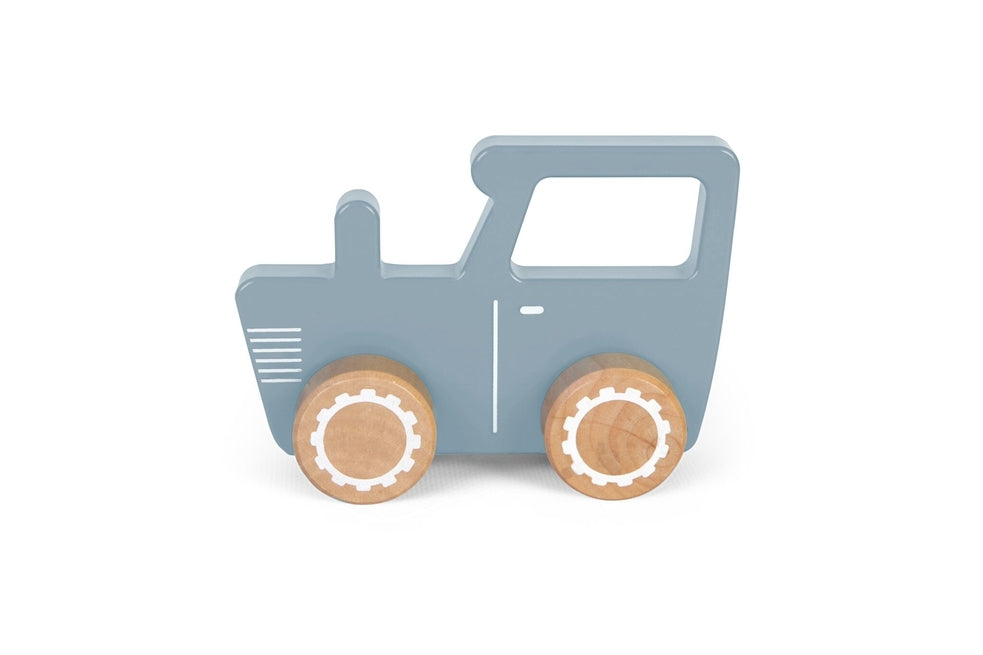 Little Dutch Tractor Hout - Blue