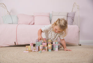 Little Dutch Houten Blokken - Pink