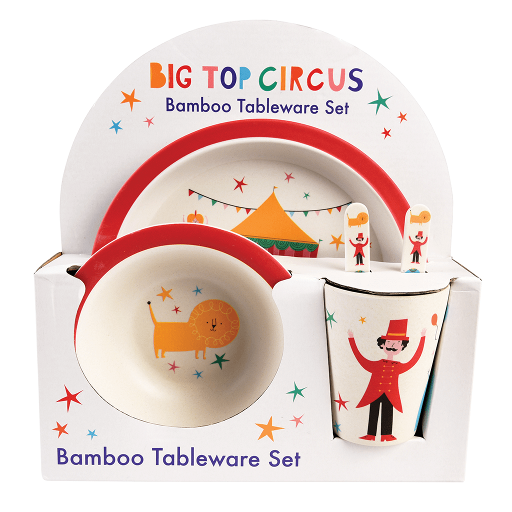 Big Top Circus Bamboe Eetset