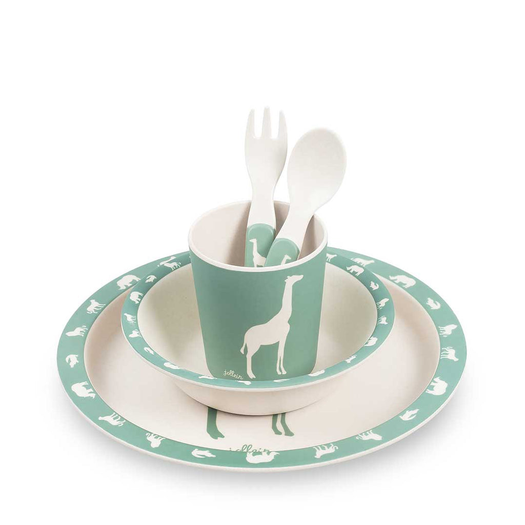 Dinerset Safari forest green