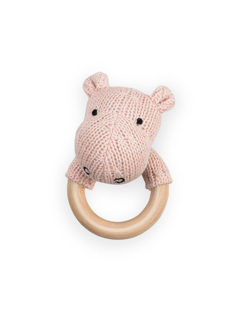Rammelaar Soft Knit Hippo Peach