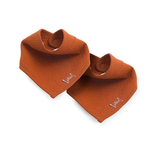 Slab bandana Brick velvet rust - 2 pack