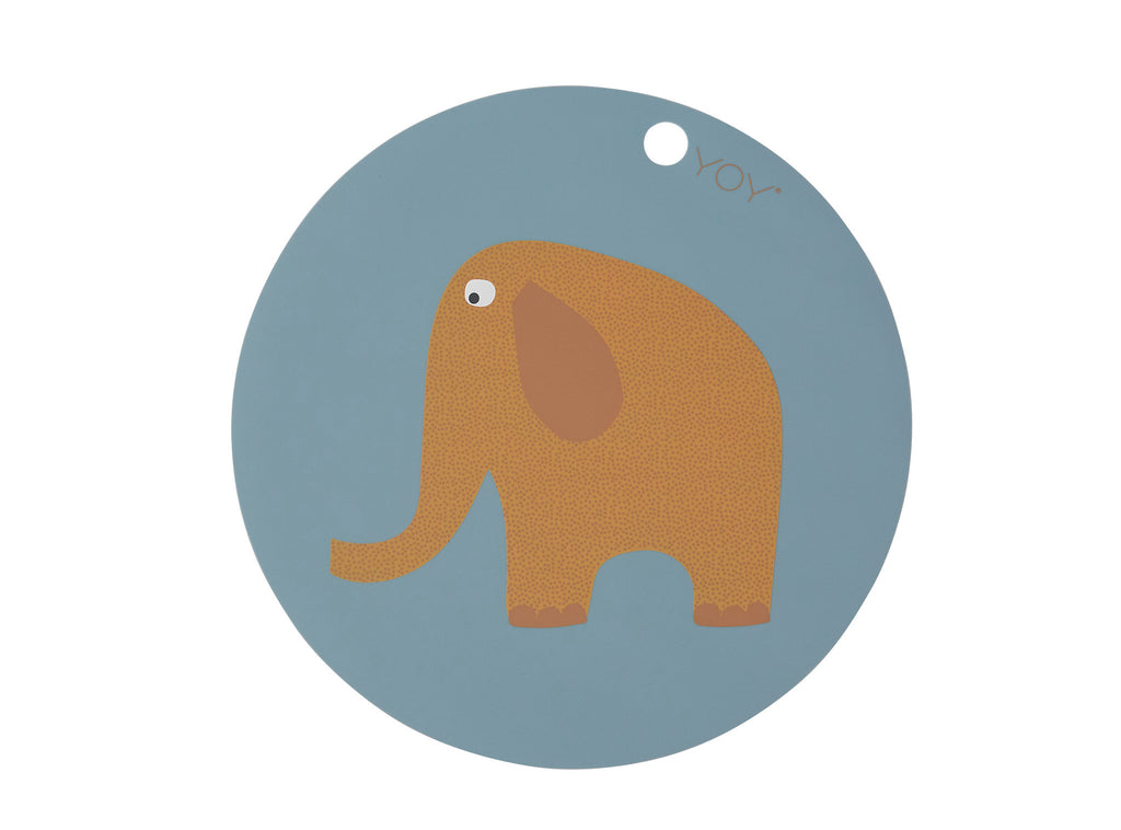 Placemat Olifant