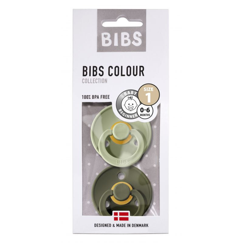 BIBS Speen Sage/Hunter Green T1