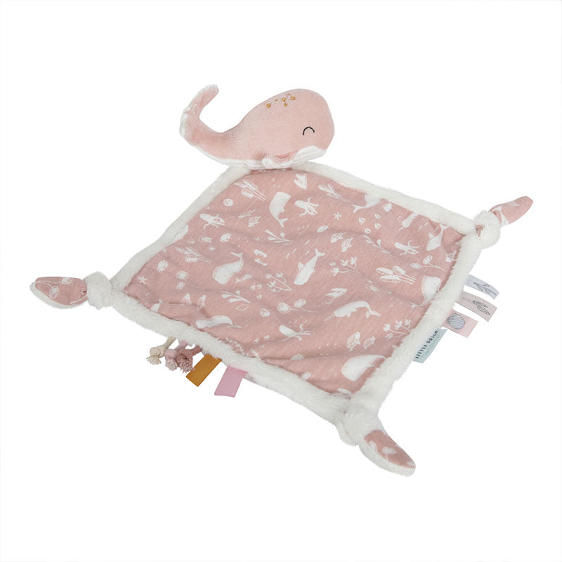 Little Dutch Knuffeldoek Walvis - Pink