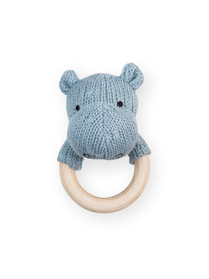 Rammelaar Soft Knit Hippo Blue