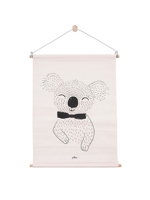 Friendly Koala Canvas Poster - 42cm x 60cm