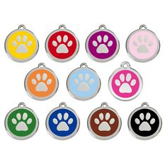 Enamel Stainless Steel Dog Tags